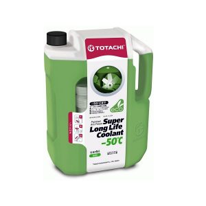 Охлаждающая жидкость TOTACHI SUPER LLC GREEN -50C 4л.