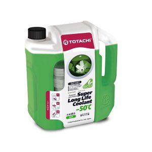 Охлаждающая жидкость TOTACHI SUPER LLC GREEN -50C 2л.