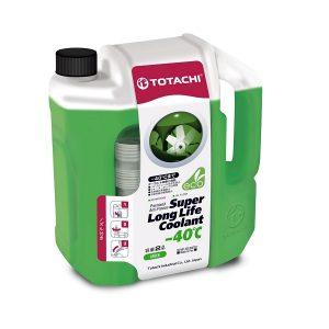 Охлаждающая жидкость TOTACHI SUPER LLC GREEN -40C 2л.